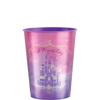 ©Disney Princess Once Upon A Time Favor Cup - Metallic Plastic