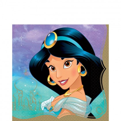 ©Disney Princess Once Upon A Time Luncheon Napkins - Jasmine