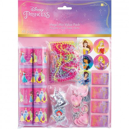 ©Disney Princess Once Upon A Time Mega Mix Value Pack Favors