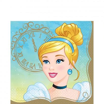 ©Disney Princess Once Upon A Time Luncheon Napkins - Cinderella
