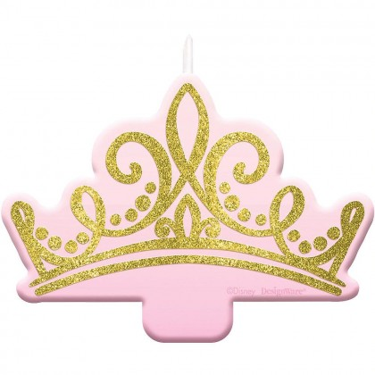 ©Disney Princess Once Upon A Time Glitter Candle