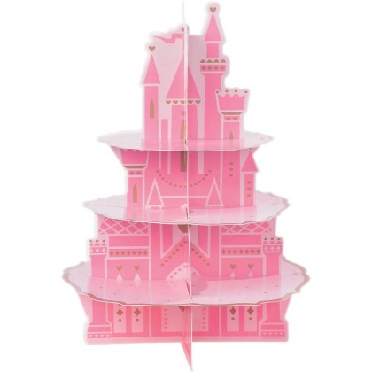 ©Disney Princess Once Upon A Time Castle Treat Stand - Cardboard