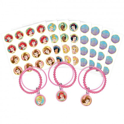 ©Disney Princess Once Upon A Time Bracelet Kit Favors