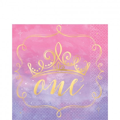 ©Disney Princess Once Upon A Time  HS Luncheon Napkins 1st Birthday