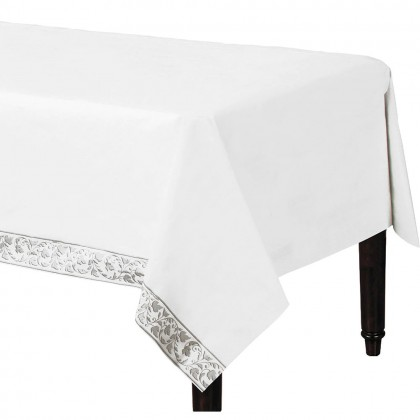 Elegant Scroll Paper Table Cover