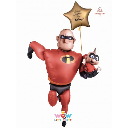 Father's Day Mr Incredible Airwalker