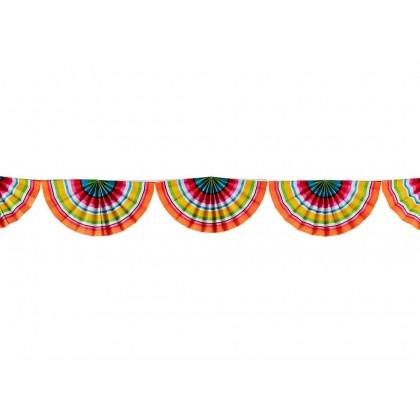 Fiesta Serape Bunting Garland - Paper