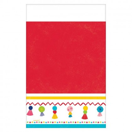 Fiesta Time Plastic Table Cover