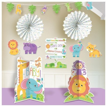 Fisher-Price Hello Baby Room Decorating Kit - Paper and Foil