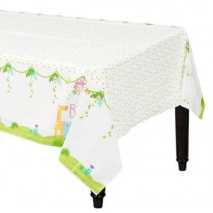 Fisher-Price Hello Baby All-Over-Print Plastic Table Cover