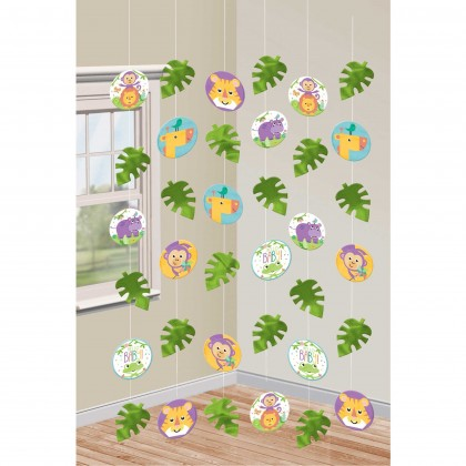 Fisher-Price Hello Baby String Decorations - Paper and Foil