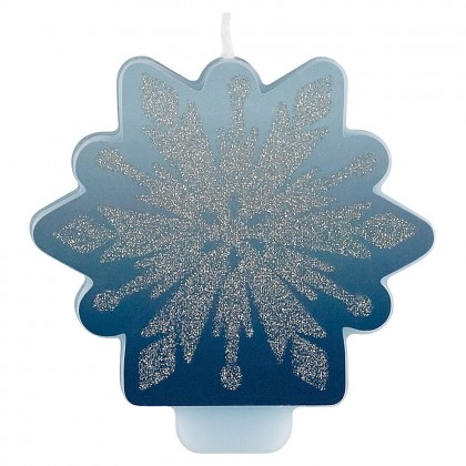 ©Disney Frozen Candle w/ Glitter & Decal