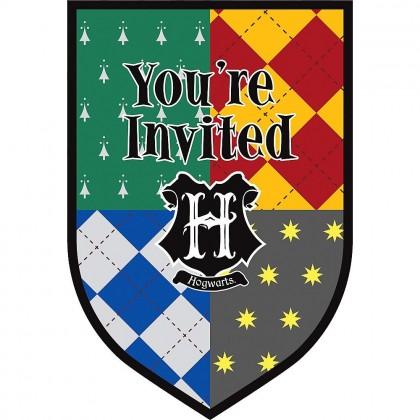 Harry Potter™  Postcard Invitations