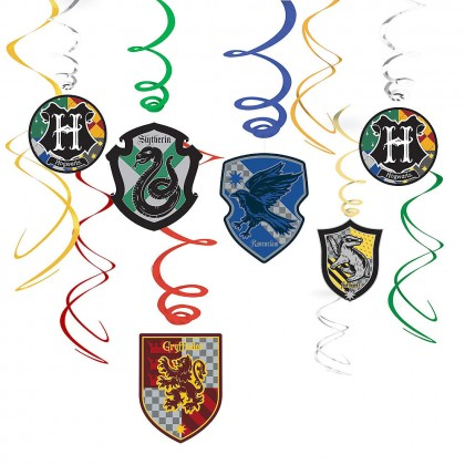Harry Potter ™ Value Pack Swirl Decorations