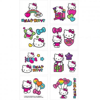 Hello Kitty® Rainbow Tattoo Favors