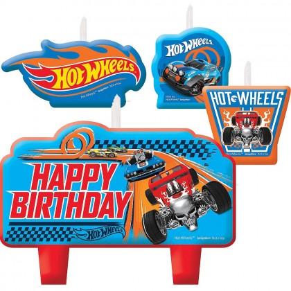 Hot Wheels Wild Racer Birthday Candle Set