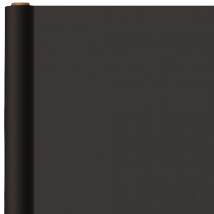 Jet Black Jumbo Solid Gift Wrap