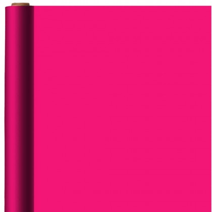 Bright Pink Jumbo Solid Gift Wrap