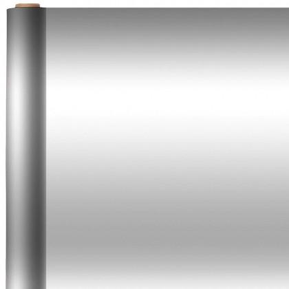 Silver Metallic  Jumbo Solid Gift Wrap