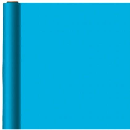 Caribbean Blue Jumbo Solid Gift Wrap