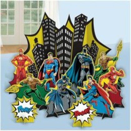 Justice League Heroes Unite Table Decorating Kit - Paper