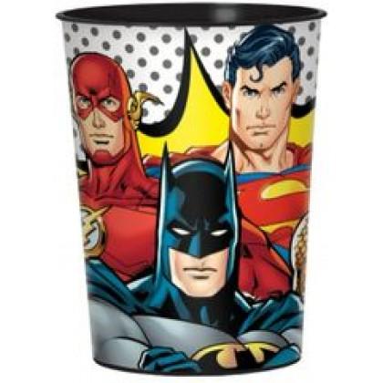 Justice League Heroes Unite Favor Cup - Plastic