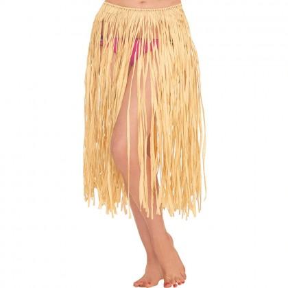 Adult Grass Skirt Natural
