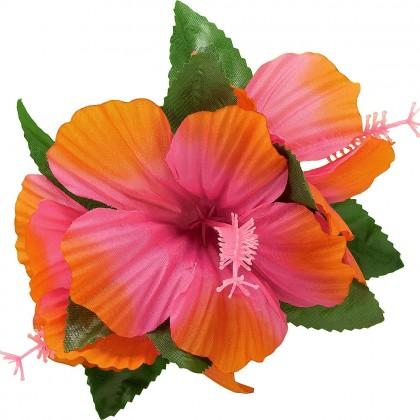 Hibiscus Barrette  Warm