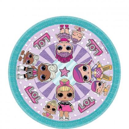 LOL Surprise™  Round plates 7 in