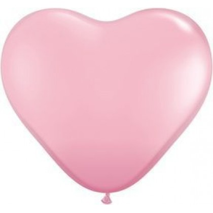 "KDI 12"" STD Pink Heart Shape - F"