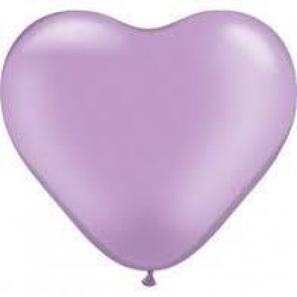 "KDI 12"" STD Lavender Heart Shape - F"