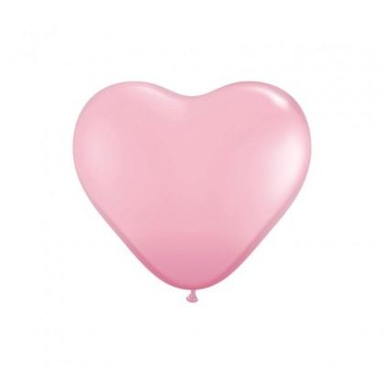 "KDI 12"" DEC Baby Pink Heart Shape -F"