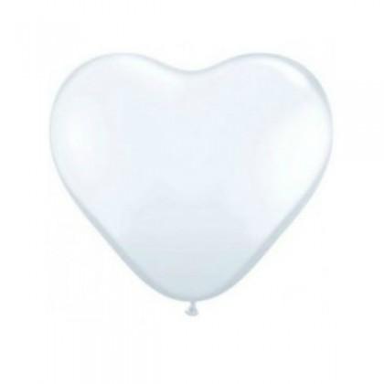 "KDI 12"" CRY Clear Heart Shape -F"