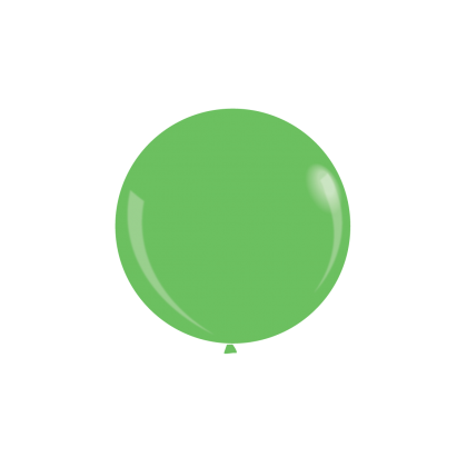"KDI 12"" NEON Green Round - F"