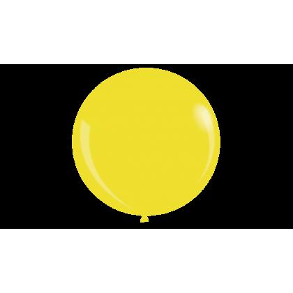 """KDI 12"""" STD Yellow Round - F"""