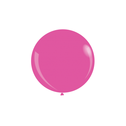 """KDI 12"""" STD Pink Round - F"""