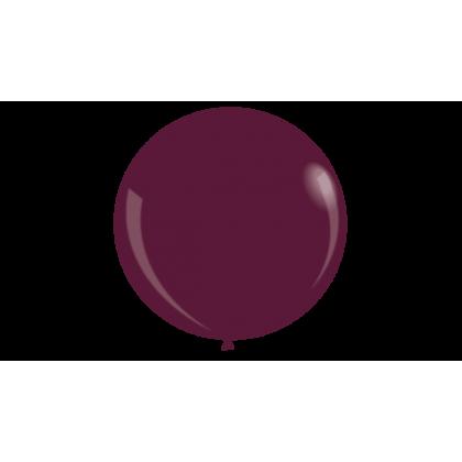 "KDI 12"" DEC Burgundy Round - F"