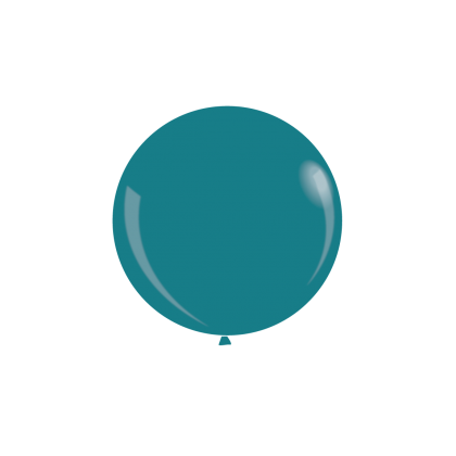 "KDI 12"" DEC Turquoise Round - F"