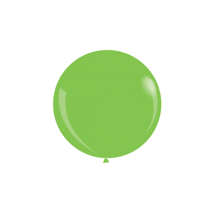 "KDI 12"" DEC Lime Green Round - F"