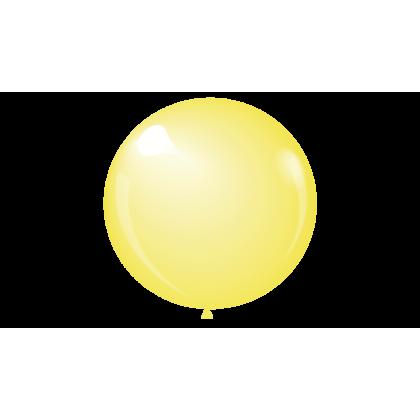 """KDI 12"""" CRYSTAL Yellow Round - F"""