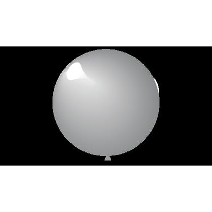 "KDI 12"" MET Silver Round - F"