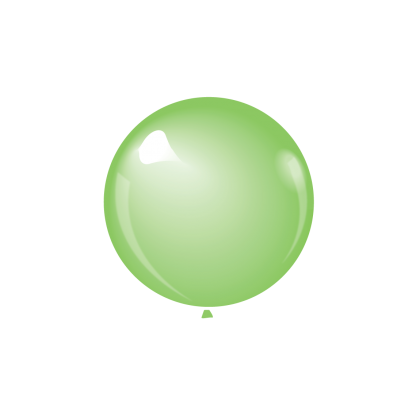 "KDI 12"" MET Lime Green Round - F"