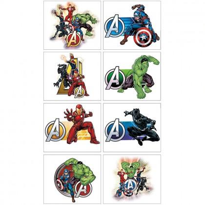 Marvel Avengers Powers Unite™  Tattoo Favors