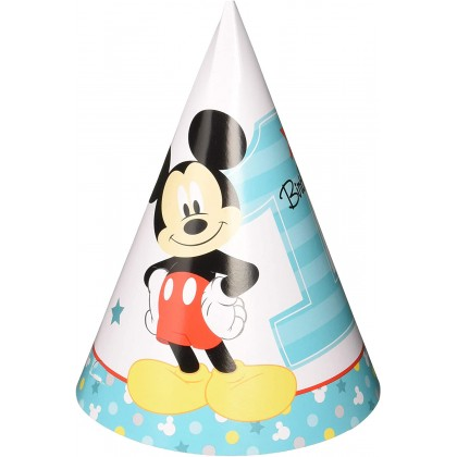 Disney Mickeys Fun To Be One Cone Hats Paper
