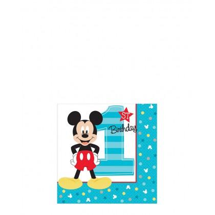 Disney Mickeys Fun To Be One Beverage Napkins