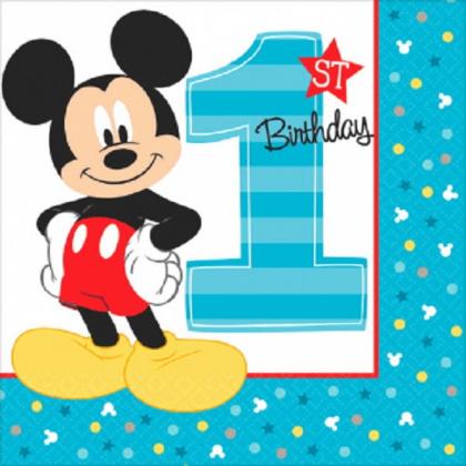 Disney Mickeys Fun To Be One Luncheon Napkins