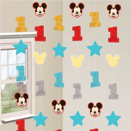 Disney Mickeys Fun To Be One String Decorations Foil & Paper