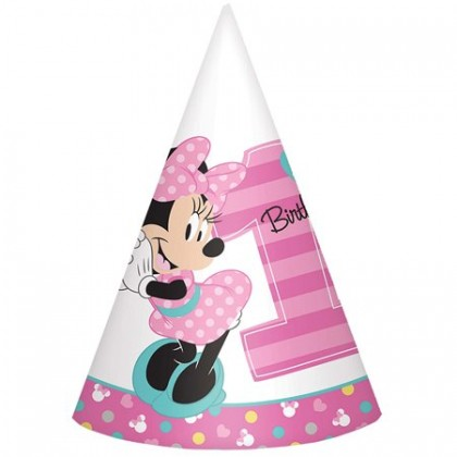 Disney Minnie Fun To Be One Cone Hats - Paper