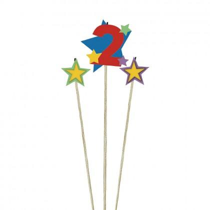 Candle Birthday Pick Star #2