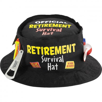 Officially Retired Survival Hat